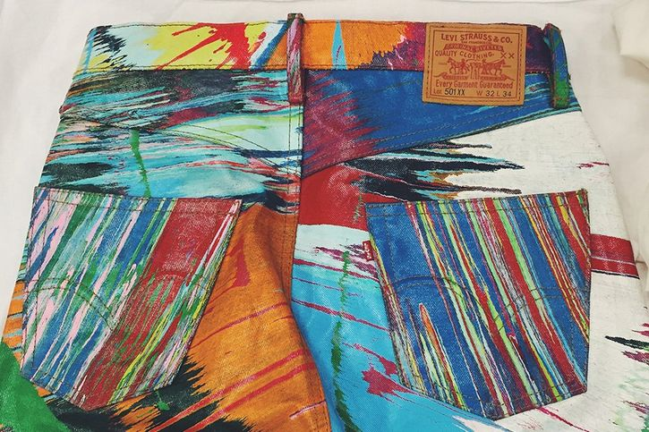Spin Jean por Damien Hirst