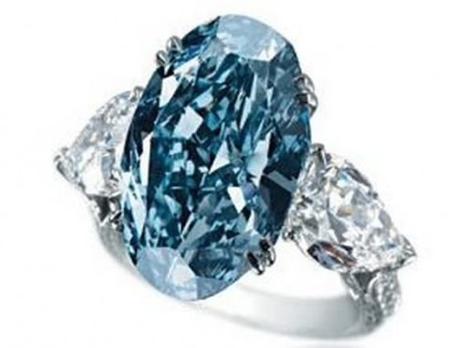 anillo Chopard Blue Diamond