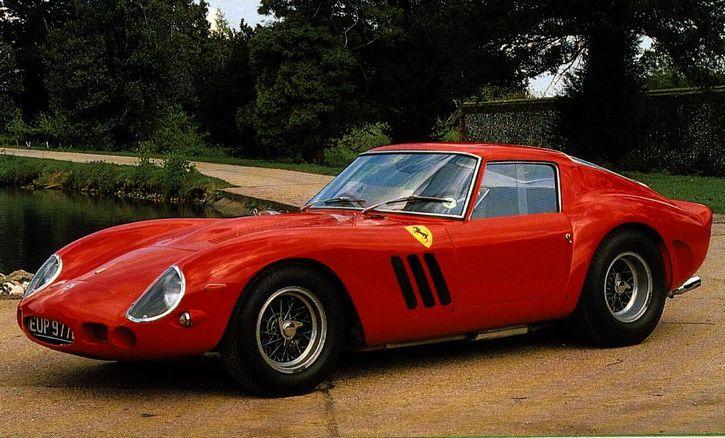 automovil 1962 Ferrari 250 GTO.