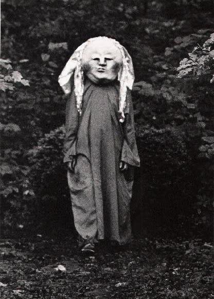 disfraz de halloween perturbador