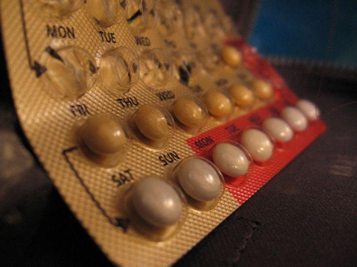 empaque de pildoras anticonceptivas primer plano
