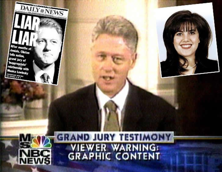 es escandalo Clinton Lewinsky