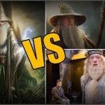 ¿Gandalf, Dumbledore o Merlín, quién es el mago más poderoso?