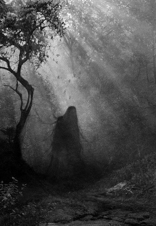 hombre misterioso sombra negra