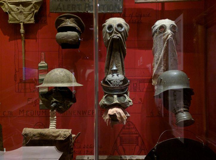 mascaras de gas primera guerra mundial