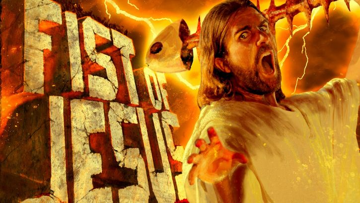 poster fist of jesus