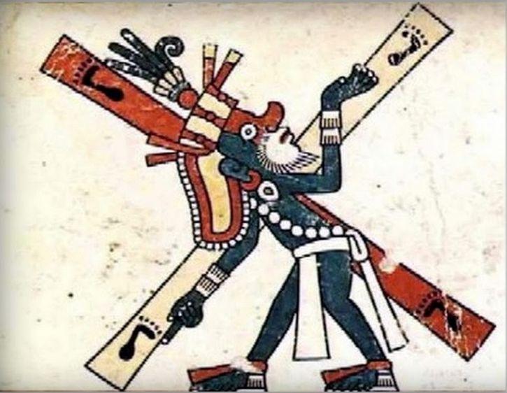 quetzalcoatle crucificado