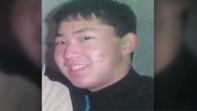 Kim Jong un en la adolescencia