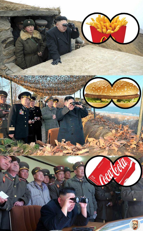 Kim Jong un meme comida