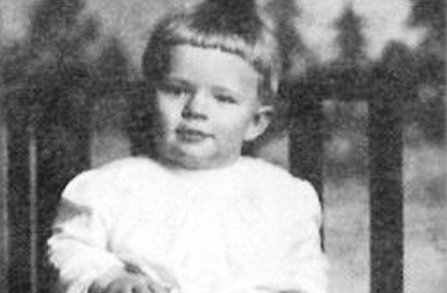 Robert Wadlow bebe
