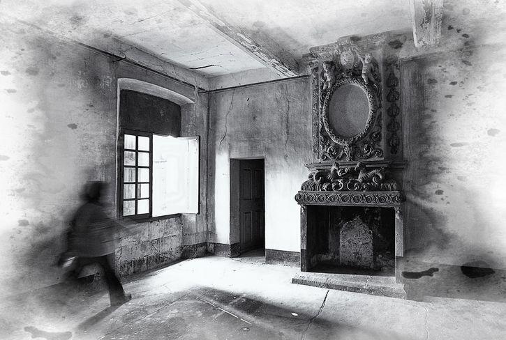 aparicion fantasma sala de estar