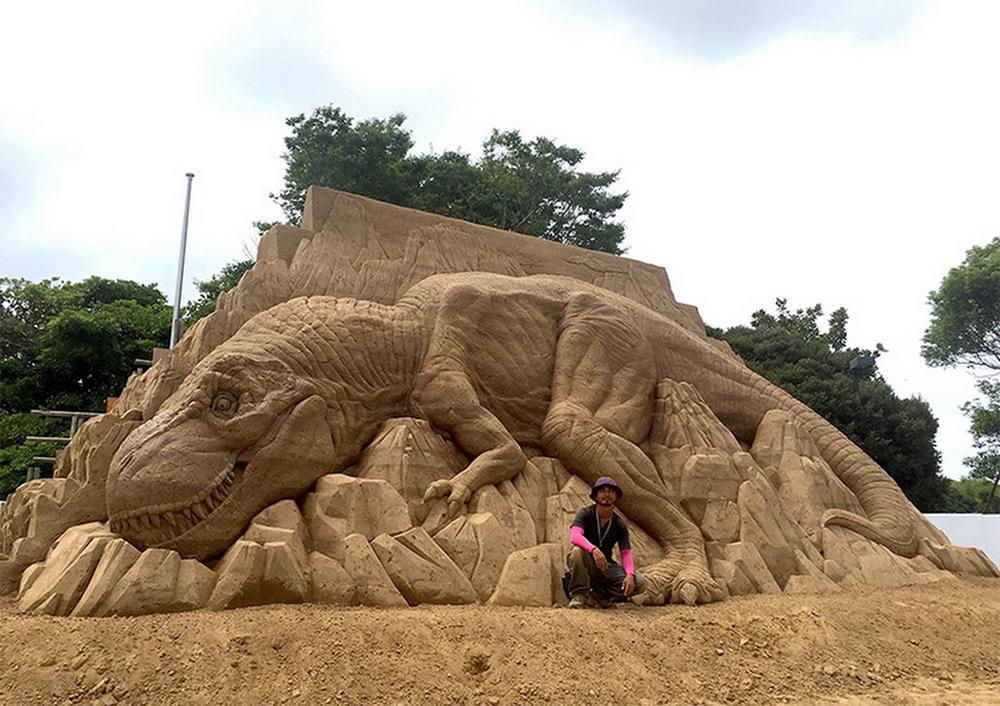 esculturas de arena Toshihiko Hosaka (1)