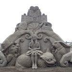 Esculturas en arena de Toshihiko Hosaka