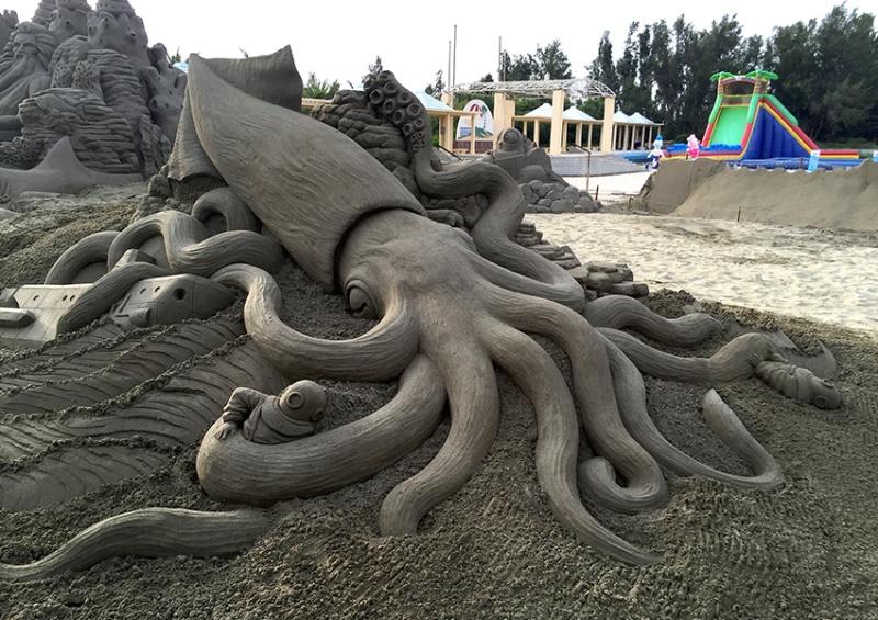 esculturas de arena Toshihiko Hosaka (4)