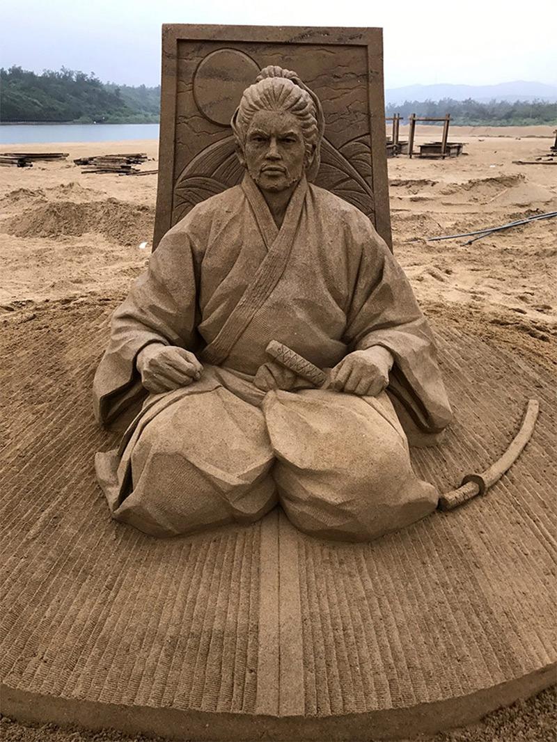 esculturas de arena Toshihiko Hosaka (6)