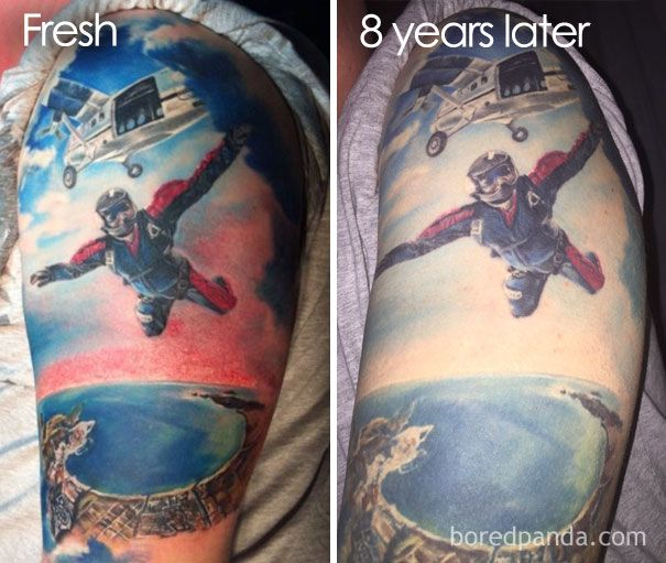 evolucion de los tatuajes paso del tiempo (1)