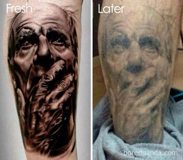 Así Evolucionan Los Tatuajes Al Paso Del Tiempo