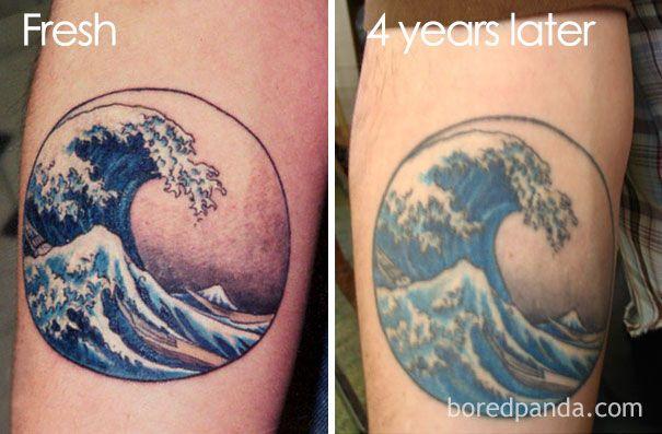evolucion de los tatuajes paso del tiempo (5)