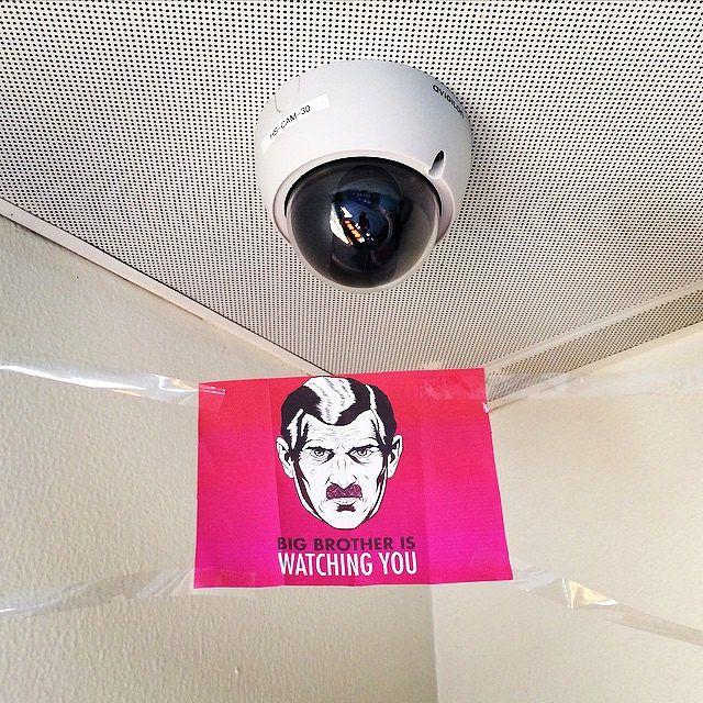 gran hermano camara vigilancia