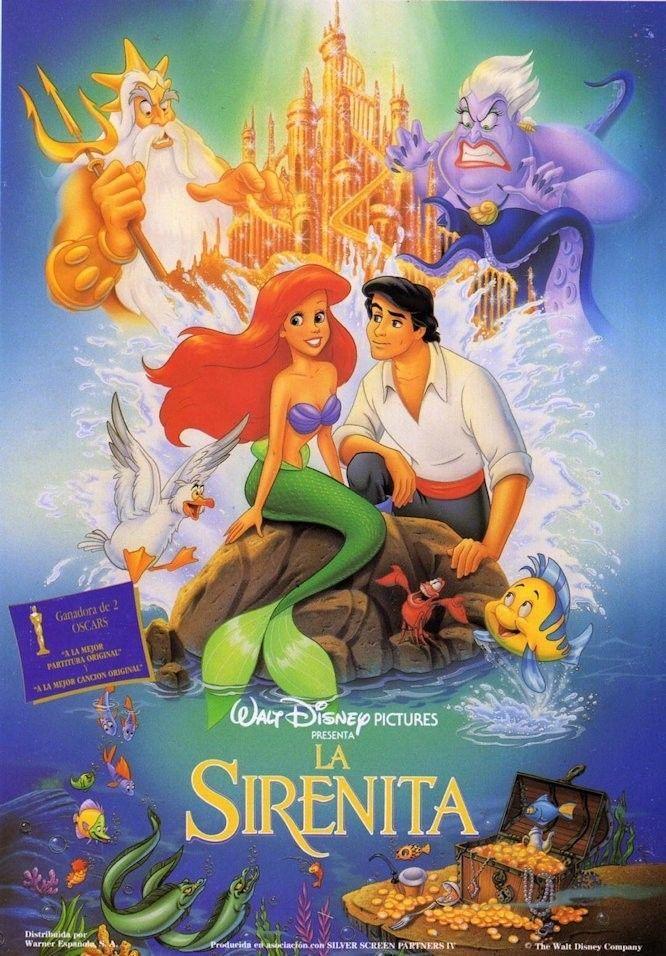 la sirenita 1989 portada vhs