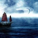 navegando en un planeta extraño