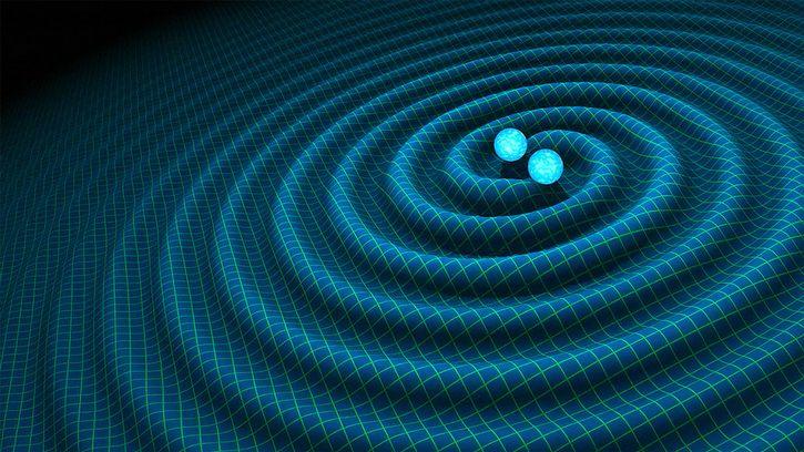 ondas gravitacionales generadas por colision de hoyos negros