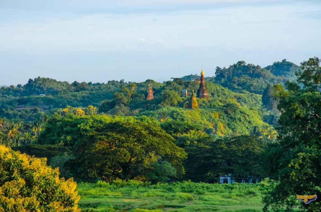 ruinas de Mrauk U en Birmania (1)