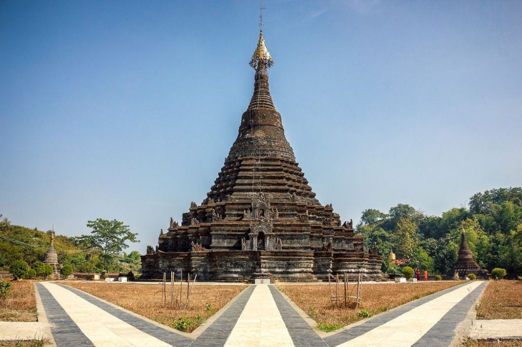 ruinas de Mrauk U en Birmania (11)