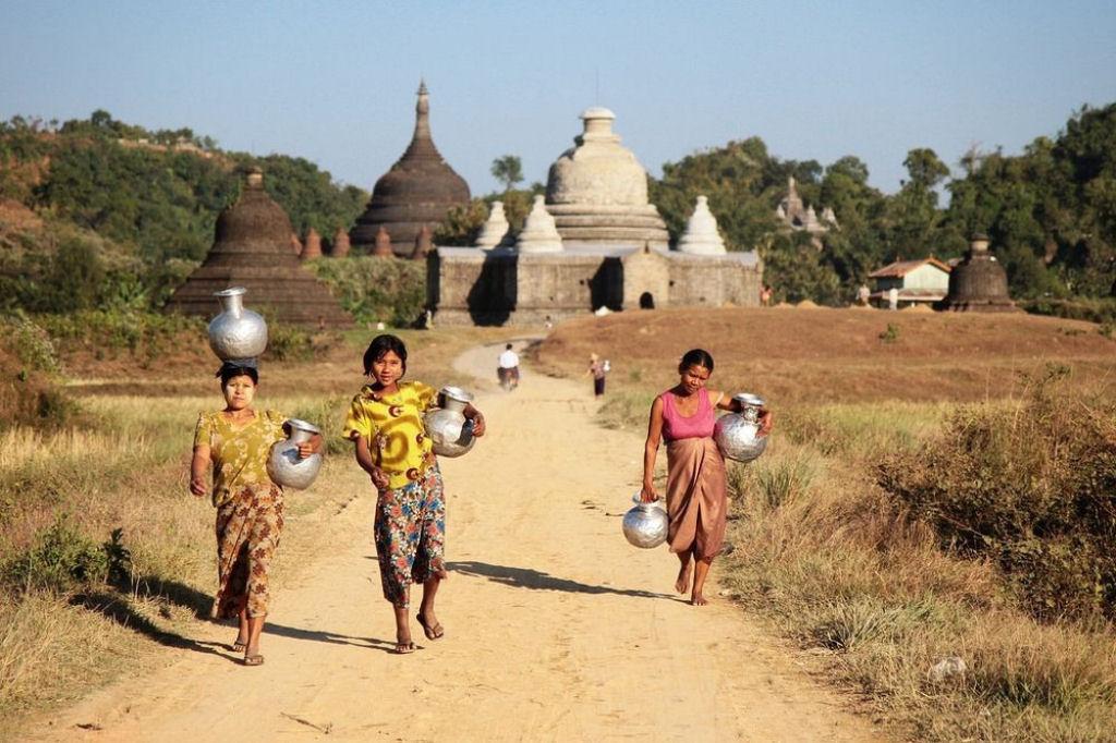 ruinas de Mrauk U en Birmania (4)