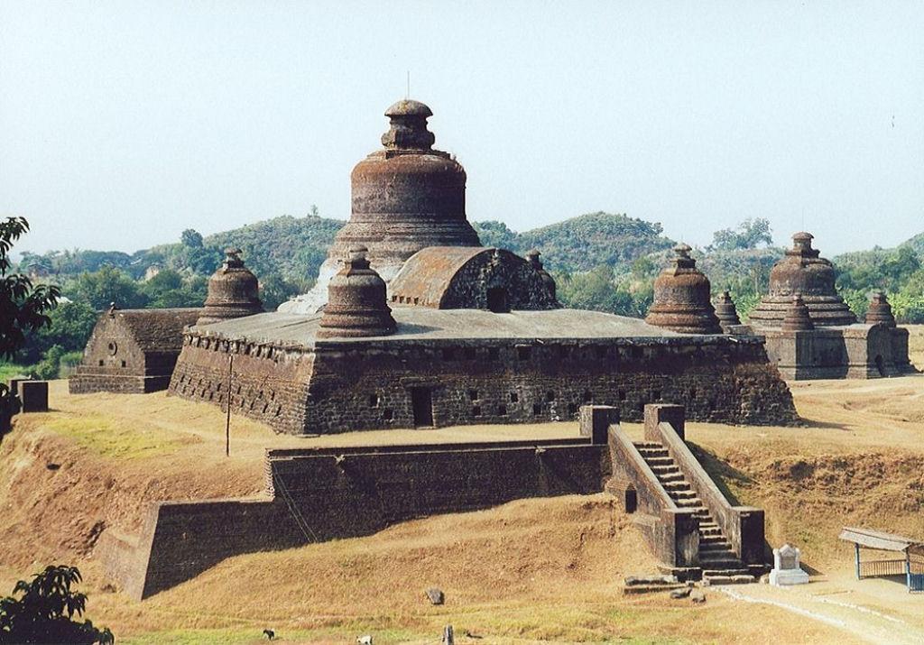 ruinas de Mrauk U en Birmania (5)