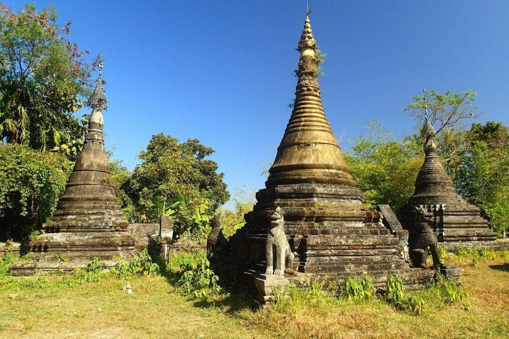 ruinas de Mrauk U en Birmania (9)