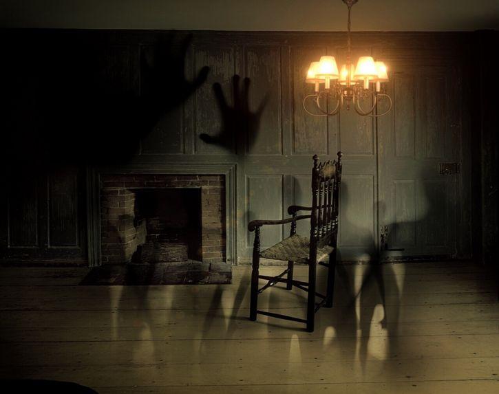 sombras en la casa