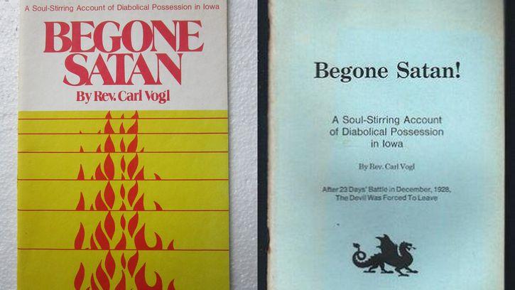 Begone Satan Libro