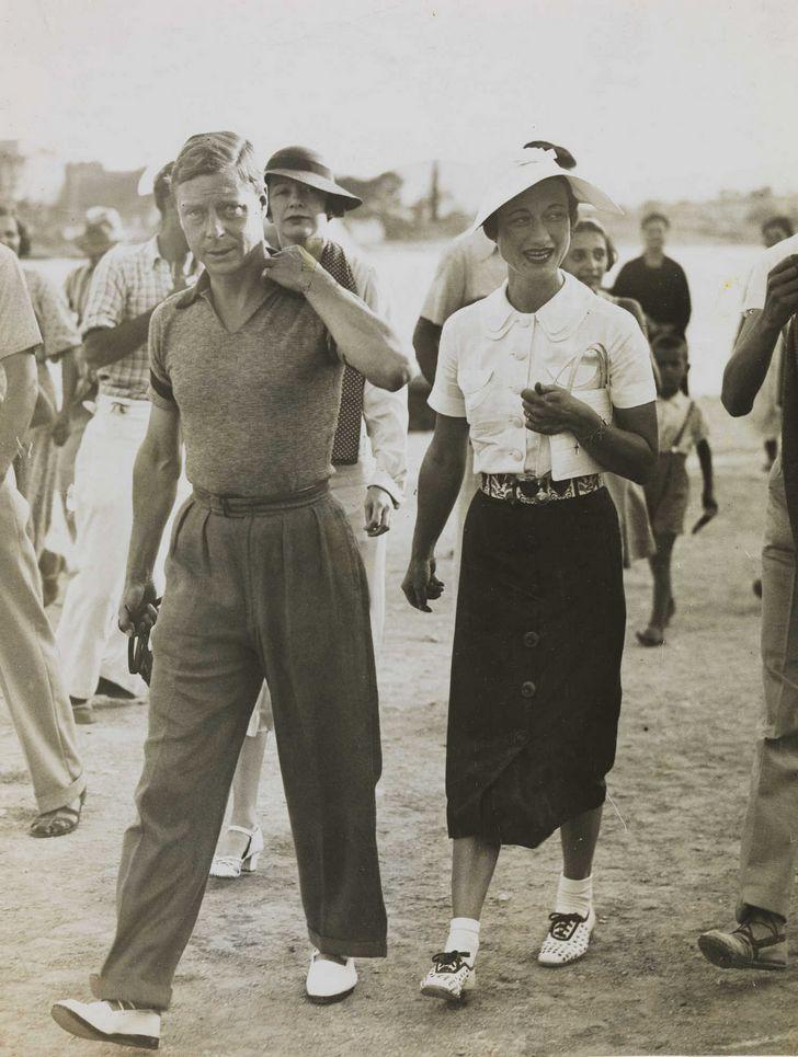 Eduardo VIII y Wallis Simpson en Yugoslavia 1936