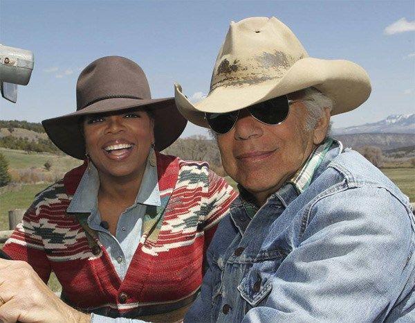 Ralph Lauren y Oprah