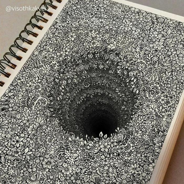 Visoth Kakvei dibujos 3D (1)