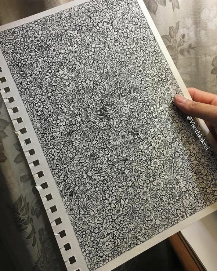 Visoth Kakvei dibujos 3D (11)