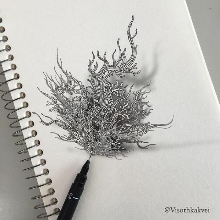 Visoth Kakvei dibujos 3D (13)