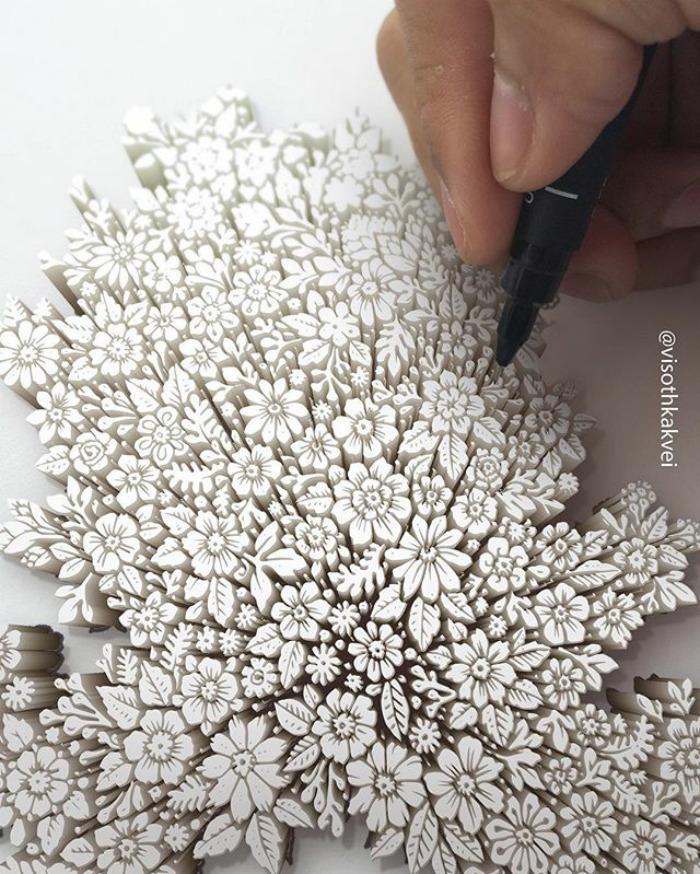 Visoth Kakvei dibujos 3D (5)