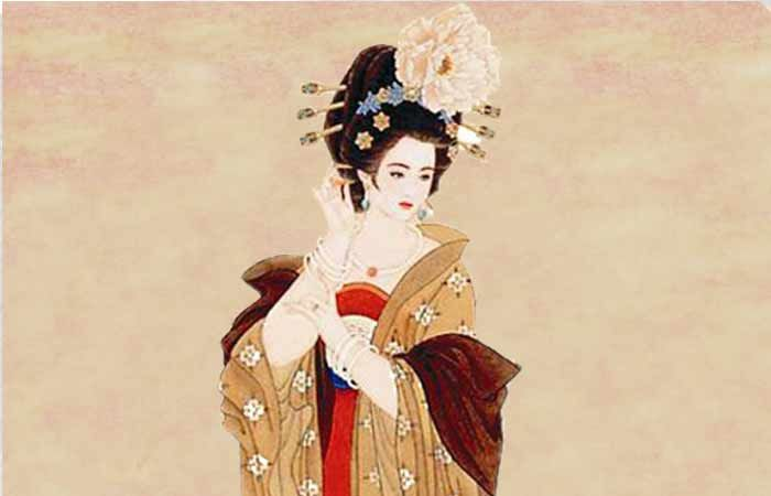 Yang Yuhuan ilustracion