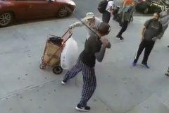 agresion a anciano en NY