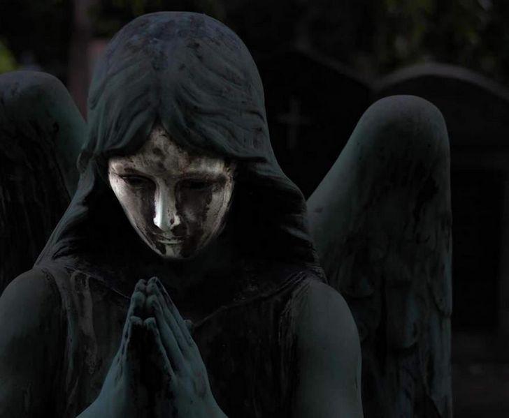 angel de la muerte negro