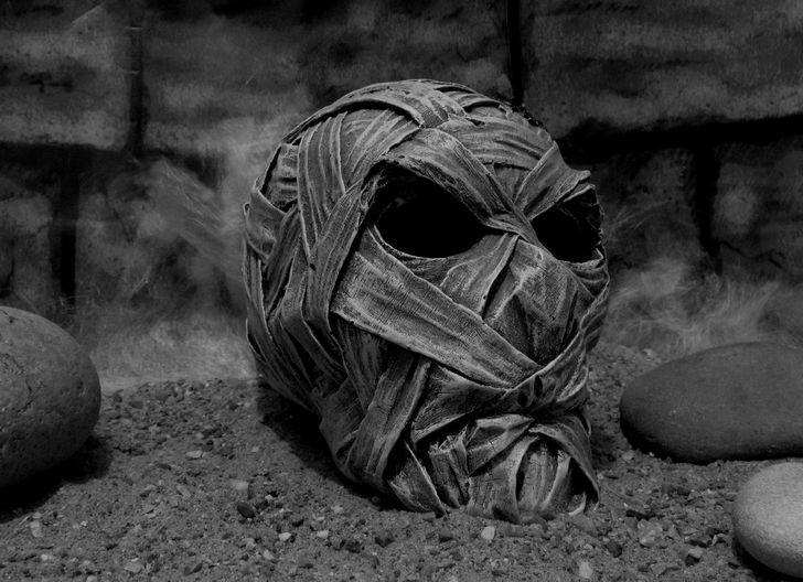 cabeza de momia