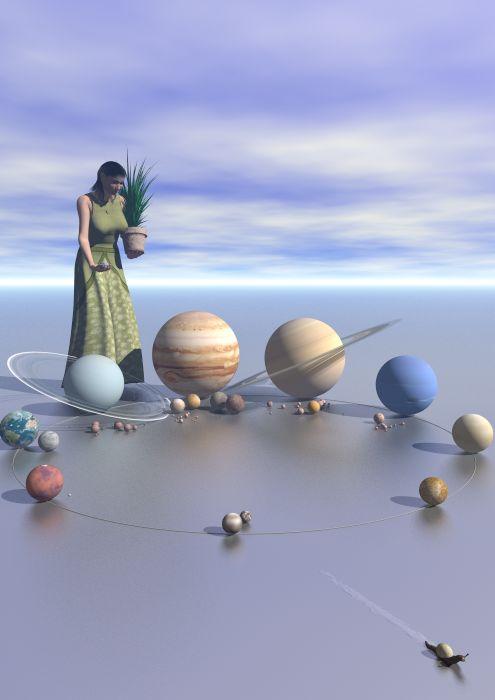 el jardin de los planetas