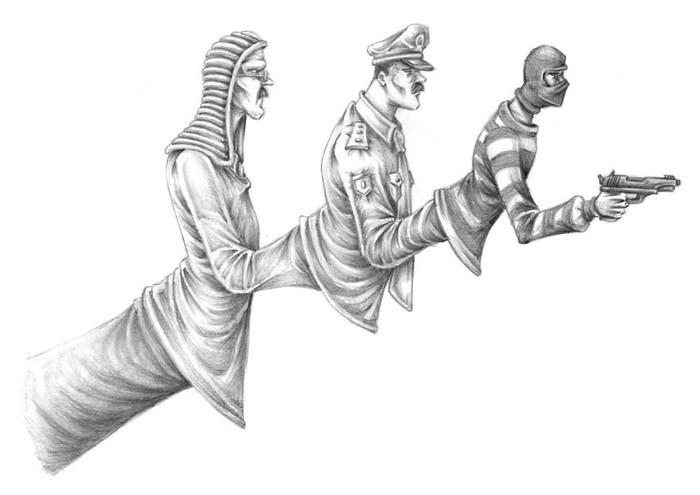 ilustraciones critica social Al Margen (13)