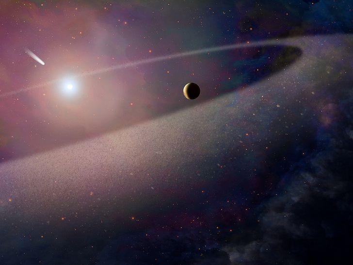 sistema binario de estrellas enana blanca