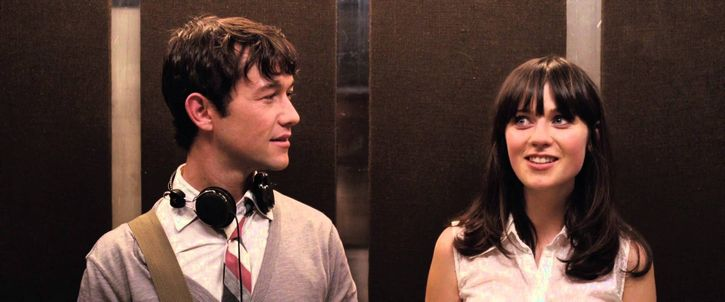 500 days of summer escena del elevador