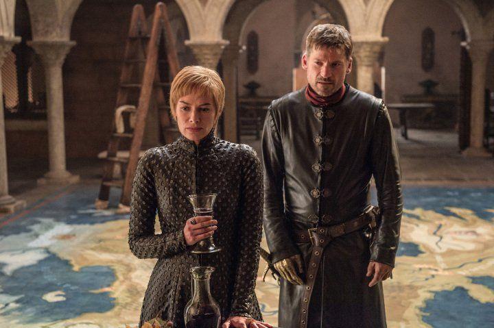 Cersei y Jaime Lannister en Seven Kingdoms