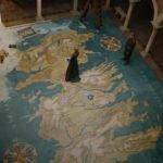 Cersei y Jaime Lannister sobre el mapa vista superior