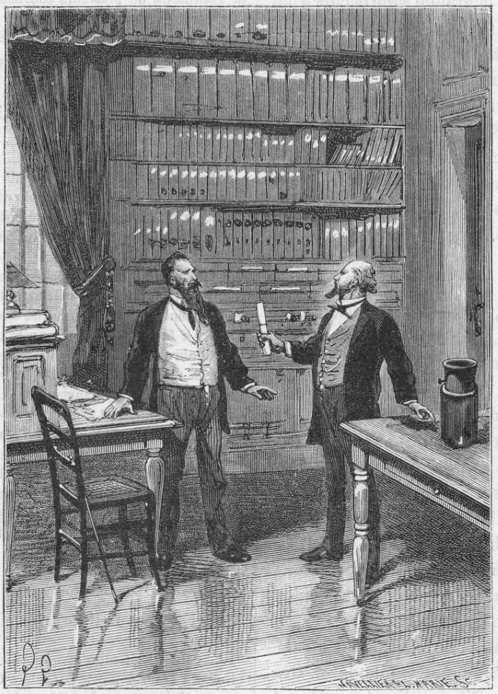Elisha Gray presenta su advertencia para patentar el telefono, 1876